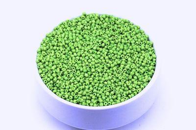 ERTÜRK - KÜÇÜK BOY KUM BONCUĞU, 1.5 mm, PARLAK YEŞİL RENK - KOD: KB-K42